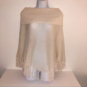 Guess Authentic Knit Poncho